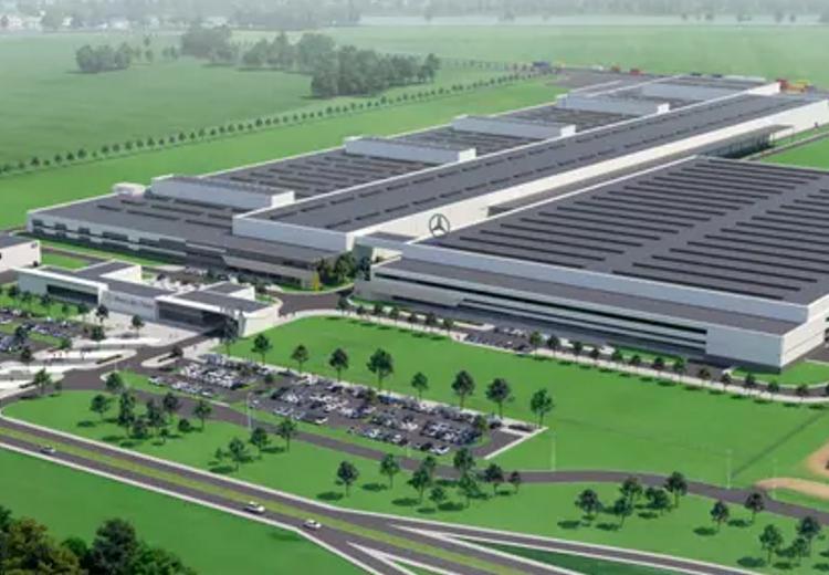 Eiffage rozpoczęło prace przy kolejnym etapie budowy nowej fabryki Mercedesa wJaworze