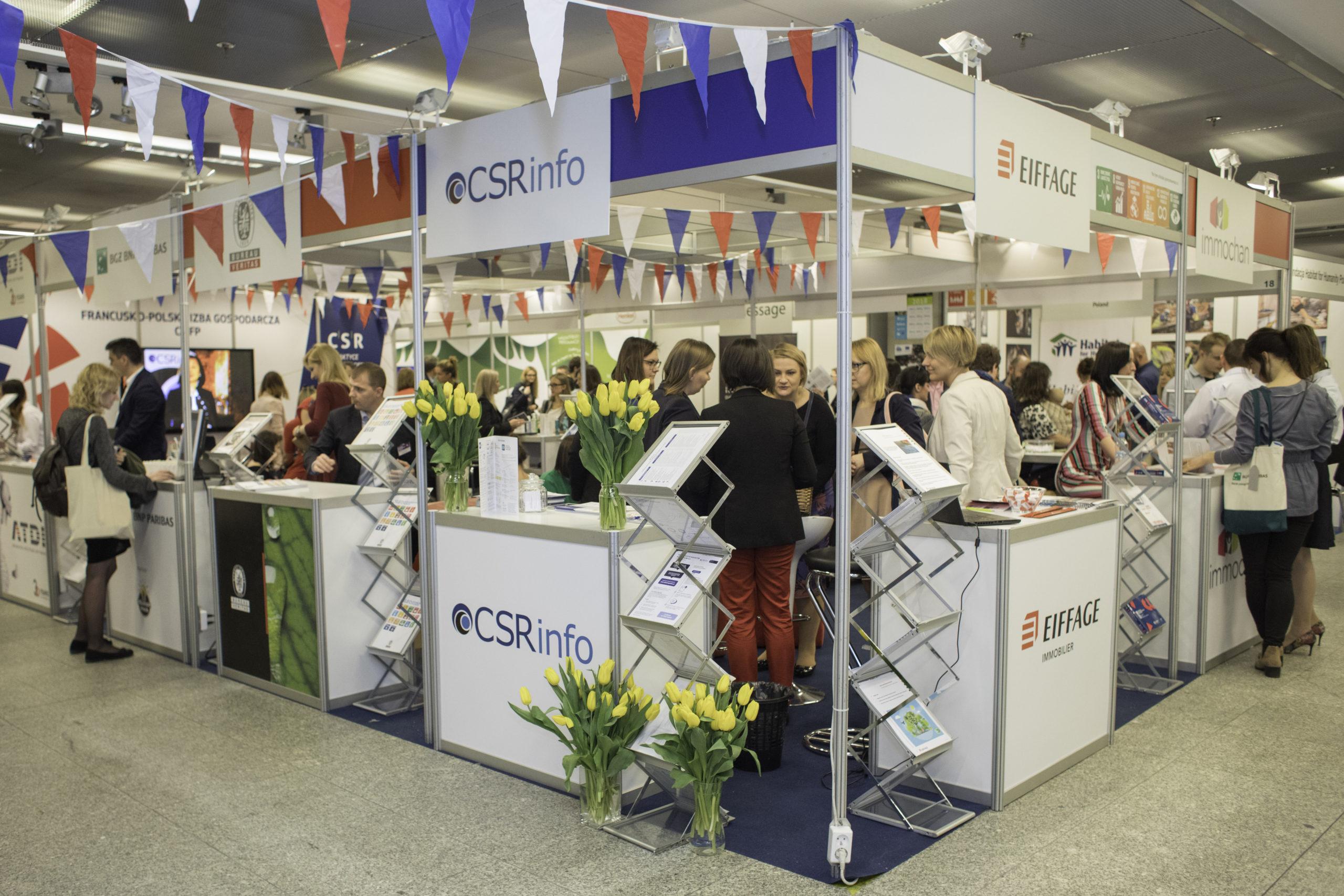 Eiffage wystawcą nawarszawskich Targach CSR
