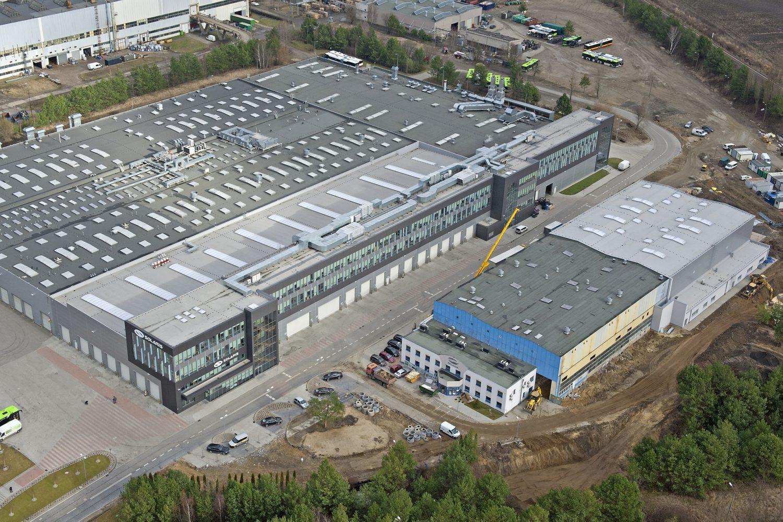Solaris – manufacturing hall