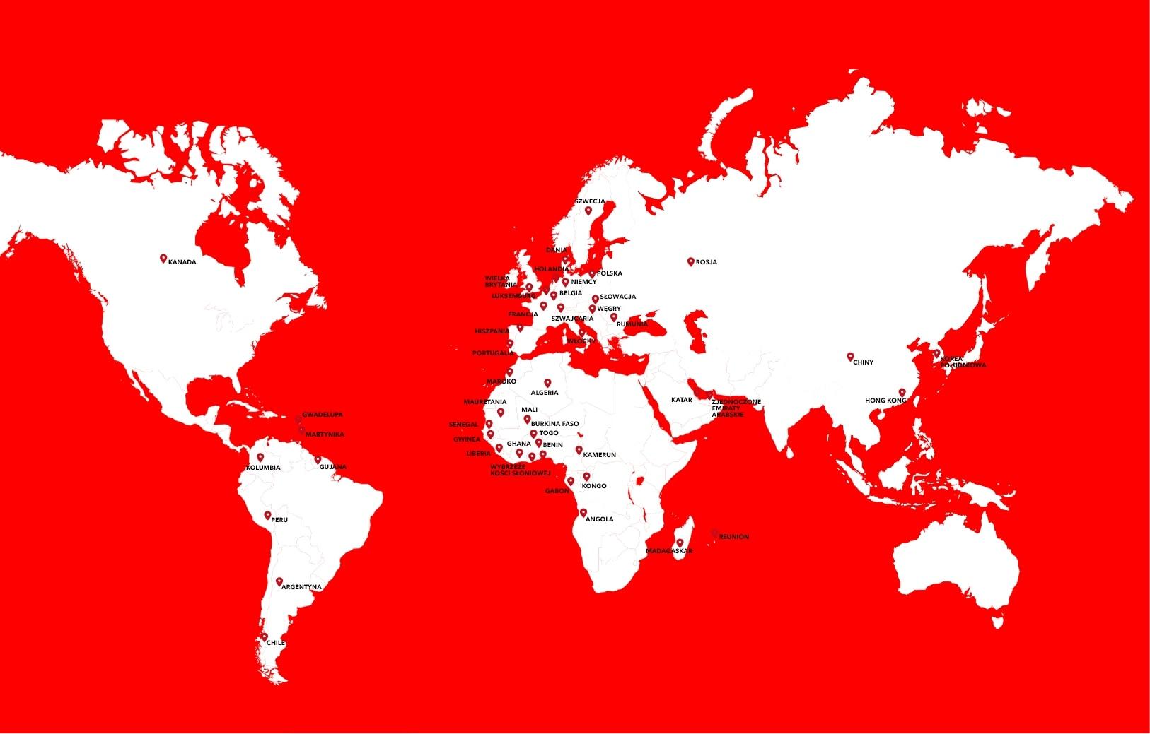 Eiffage na świecie
