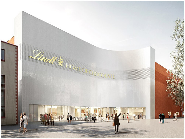 "Eiffage is building the world's tallest chocolate fountain for Lindt & Sprüngli in ""Lindt Home of Chocolate"" outside Zurich"