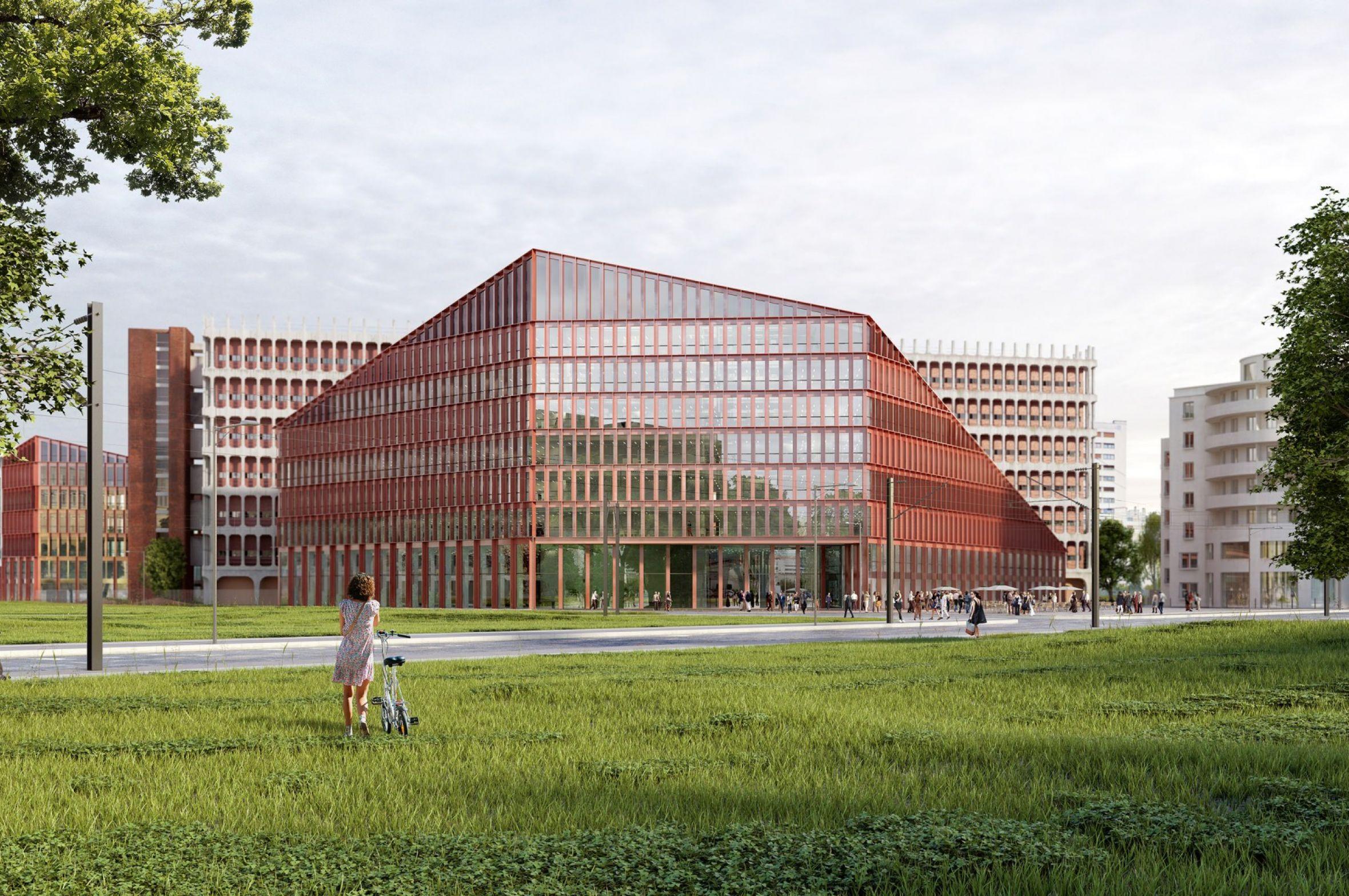 Eiffage Construction wybuduje nową siedzibę główną Orange wLyonie wykorzystując beton zkruszywem zrecyklingu