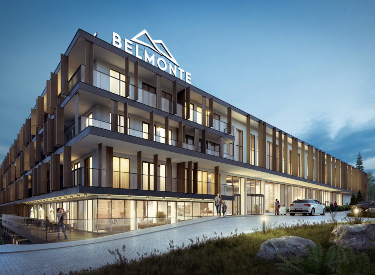 A consortium of Eiffage will build Belmonte Hotel & Resort – the first five-star hotel in Krynica-Zdrój