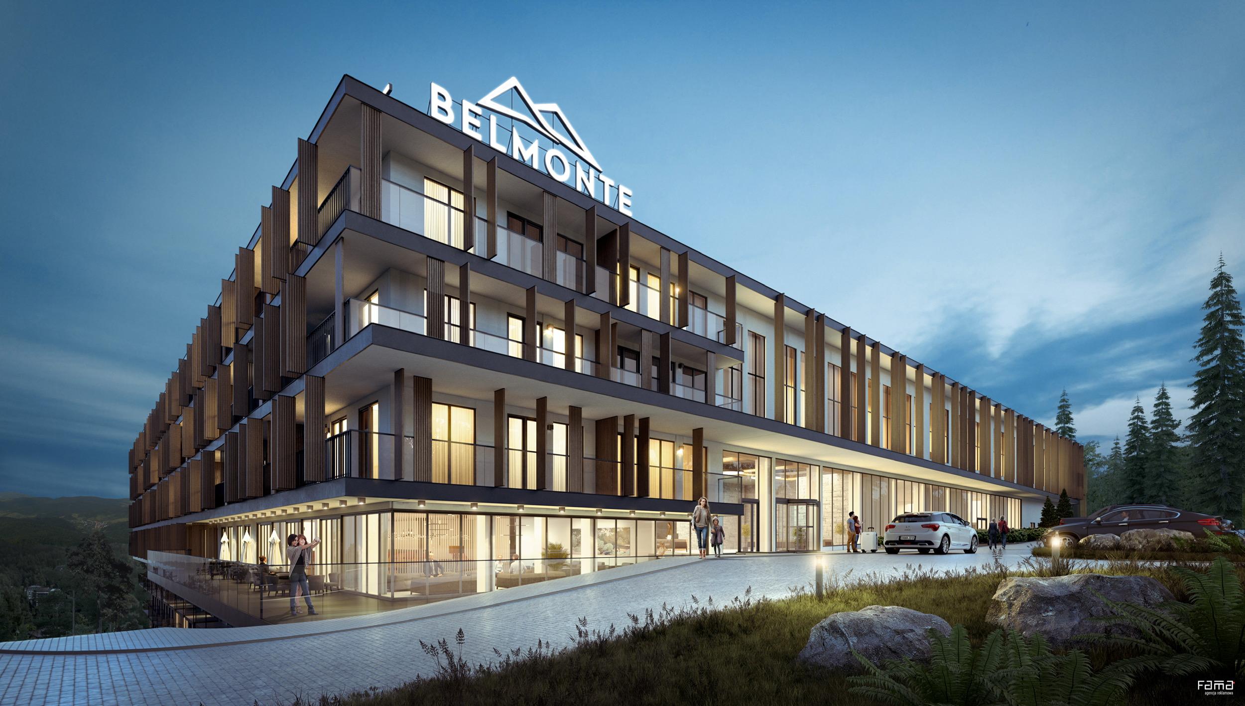 Konsorcjum spółek Eiffage wybuduje Belmonte Hotel & Resort – pierwszy pięciogwiazdkowy hotel wKrynicy-Zdroju
