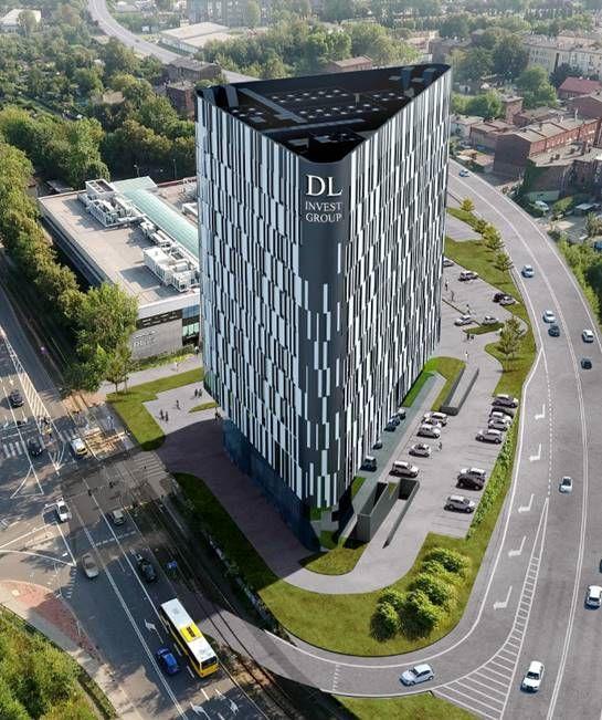 Konsorcjum spółek Eiffage zbuduje wysokiej klasy biurowiec wKatowicach