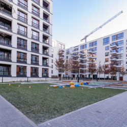 Browary Warszawskie – the first residential stage carried out by Eiffage has been completed
