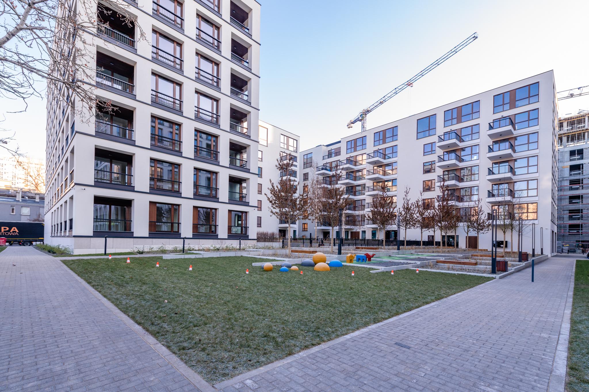 Browary Warszawskie – koniec pierwszego etapu mieszkaniowego realizowanego przezEiffage