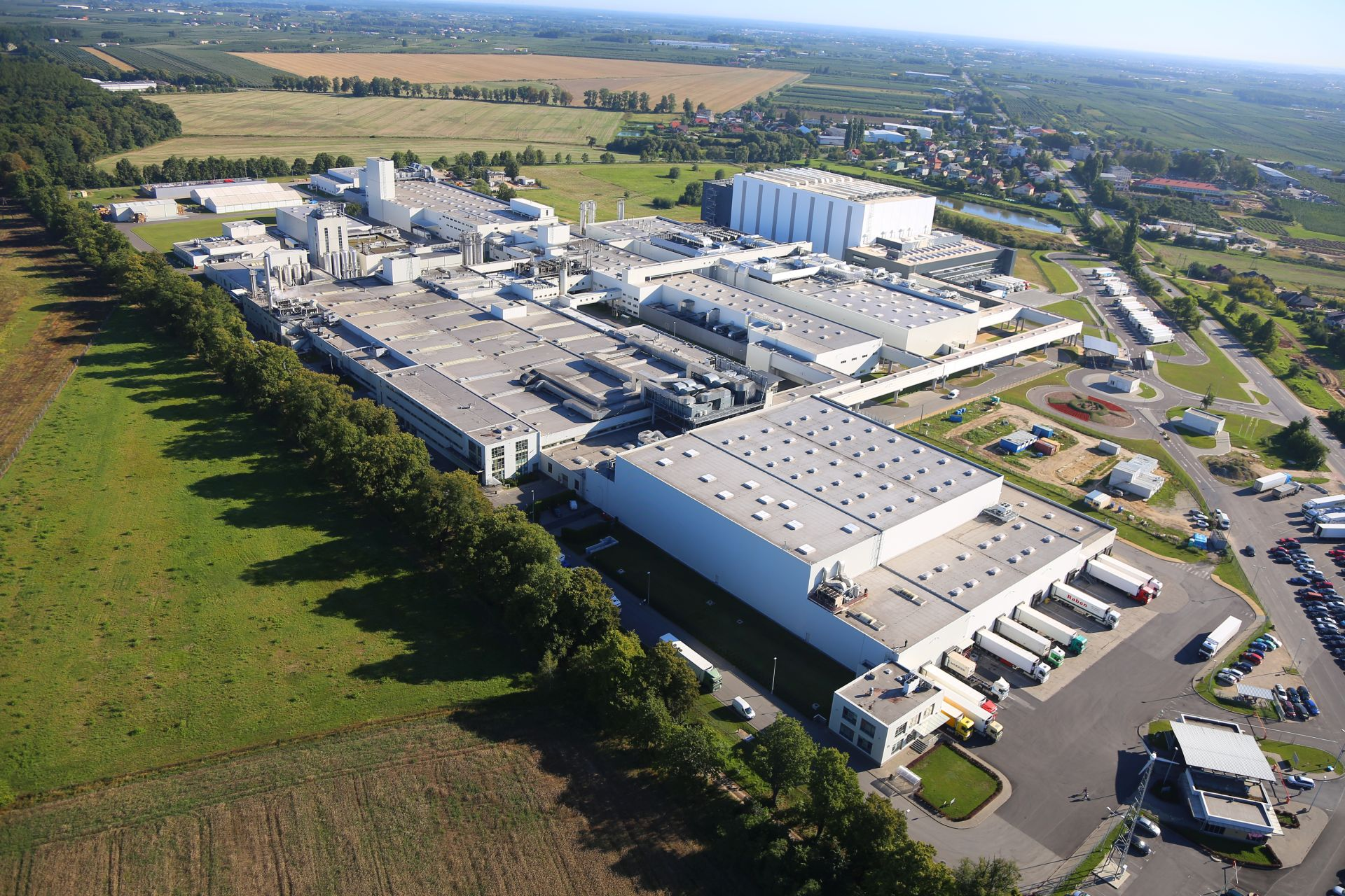 Eiffage Polska Budownictwo rozpoczyna rozbudowę fabryki dla Ferrero Polska wBelsku Dużym k/Grójca
