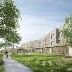 Nowoczesny dom opieki senioralnej budowany przezEiffage Construction zdobywa kolejne ekologiczne certyfikaty