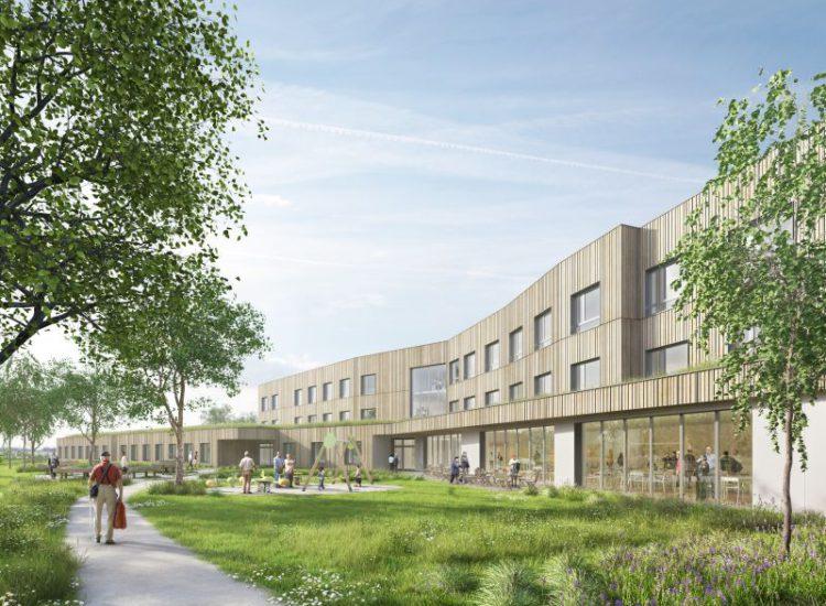 Nowoczesny dom opieki senioralnej budowany przez Eiffage Construction zdobywa kolejne ekologiczne certyfikaty