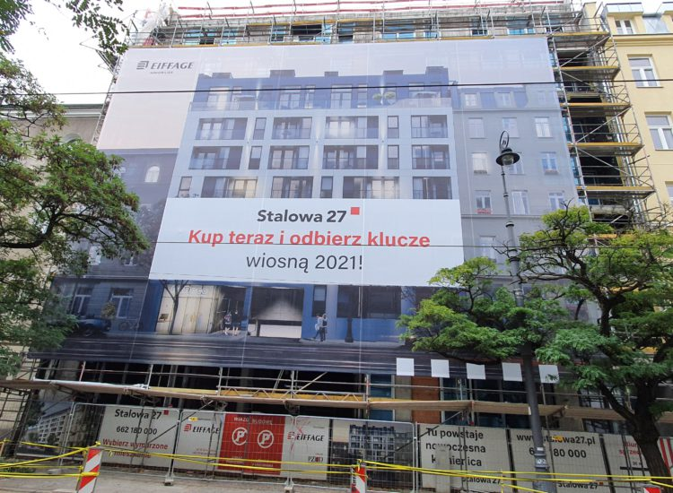 """""""Stalowa 27"""": ostatnie mieszkania wsprzedaży wwarszawskiej inwestycji Eiffage Immobilier Polska"""