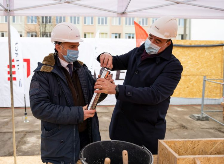 Uroczyste rozpoczęcie budowy HB1820 weWrocławiu