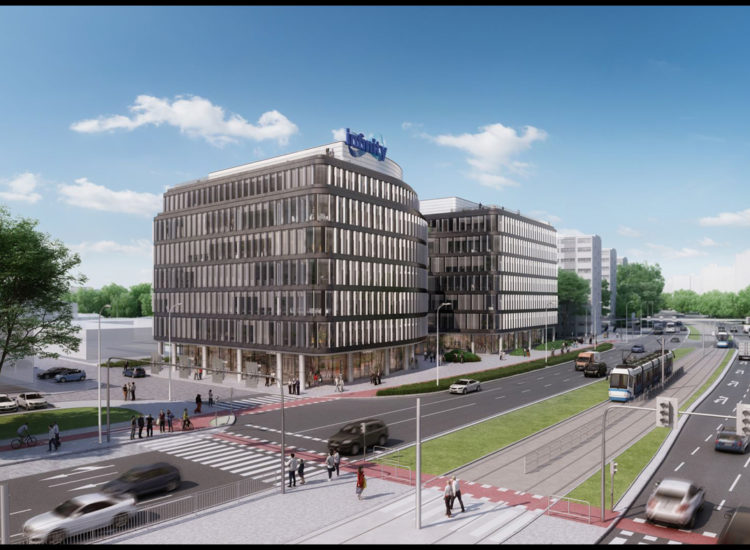 Eiffage starts with the construction of Infinity office building in Wrocław