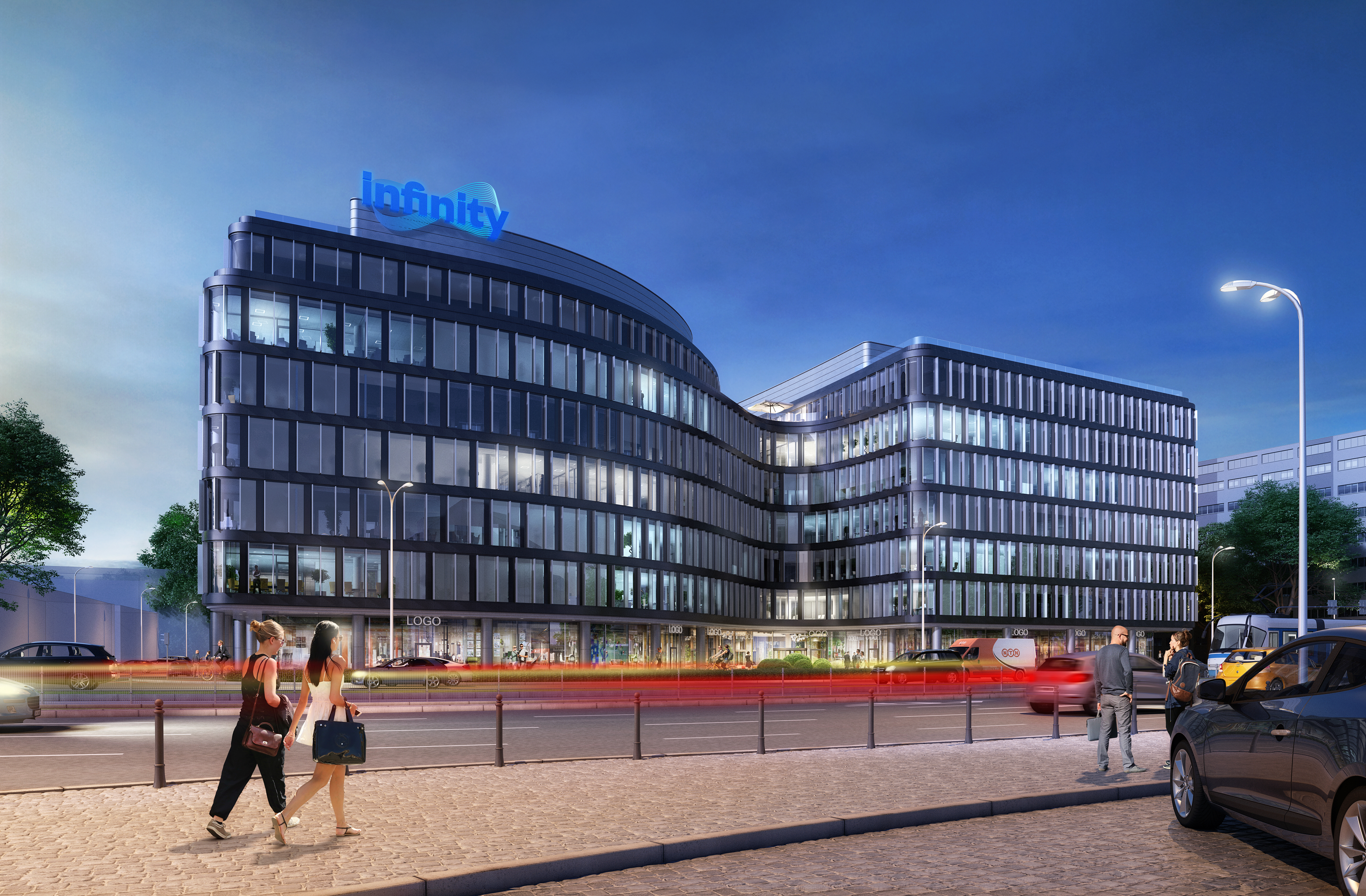 Eiffage selected as the general contractor for the Infinity office building