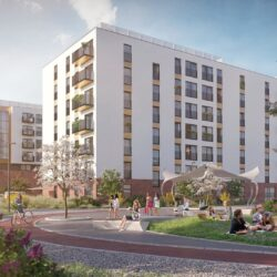 Eiffage starts the construction of Atmo residential project in Wrocław